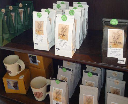 Herbal Teas, Pots and Mugs