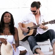 Mahapurna band members Shonna Brown (Annapurna) and John William Bauld (MahaDeva) perform live kirtan.